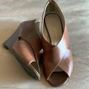 Franco Sarto Leather Wedge